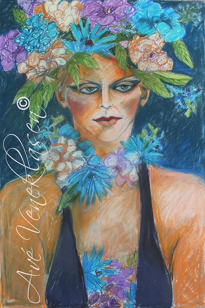 Ave_Veneklasen_WomenWithFlowers_FloralCollar_Pastel