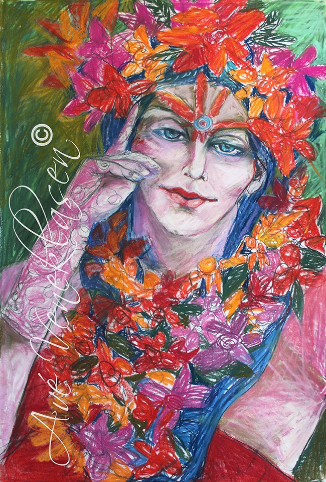 Ave_Veneklasen_WomenWithFlowers_Floral_Pastel